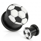 Tunnel / Plug, Soccer / Voetbal 6mm/8mm/10mm