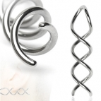 Stretcher Steel, Curly (2)  2 mm