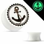 Tunnel/Plug, Acryl Anker /Anchor